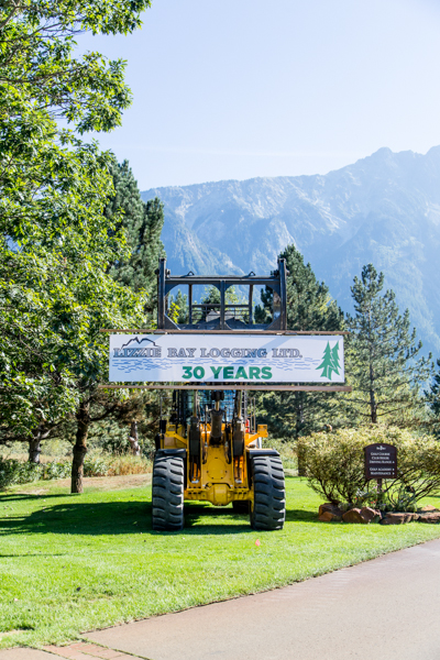 Lizzie Bay Logging LTD celebrates 30 year anniversary..