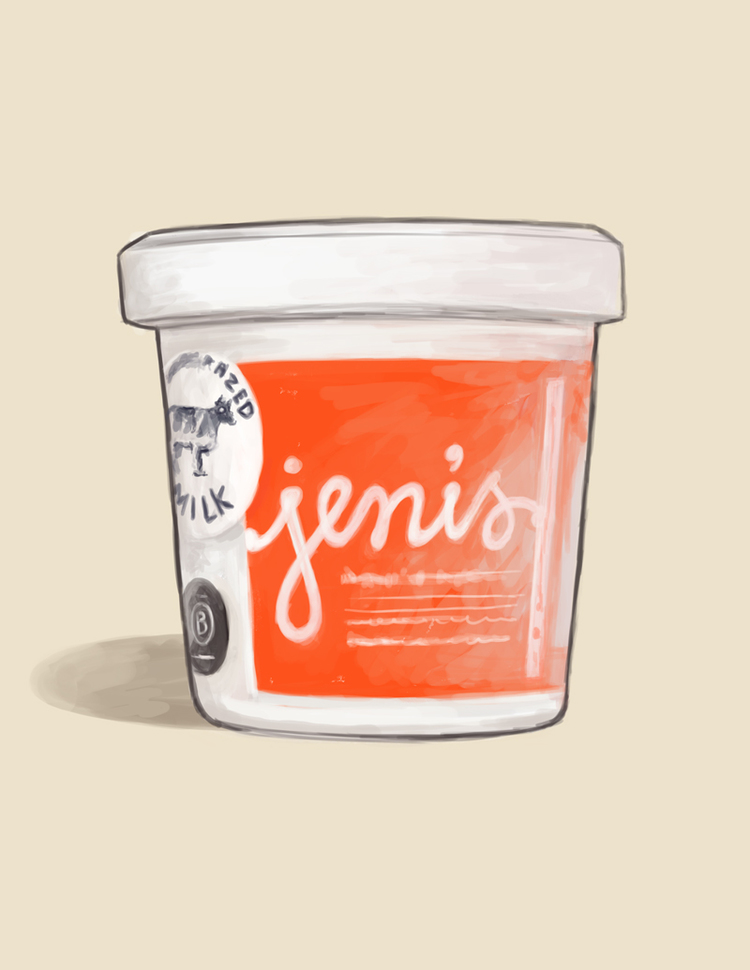 An illustration by Patrick Moore for Jeni's Splendid Ice Creams  (Credit: moorepat.com)