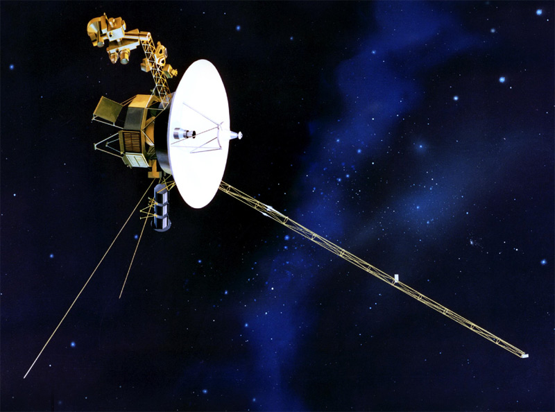 The Voyager 1 probe. Source: NASA