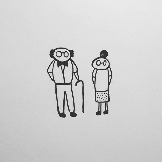 Grandparents 👴🏻👵🏻 #100daysofgoodthings #the100dayproject -T