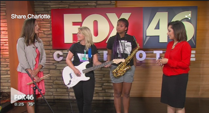 So much fun to do this interview for another good community cause = Share Charlotte...and to feature one of our original campers and awesome sax players, Darya Bernard!