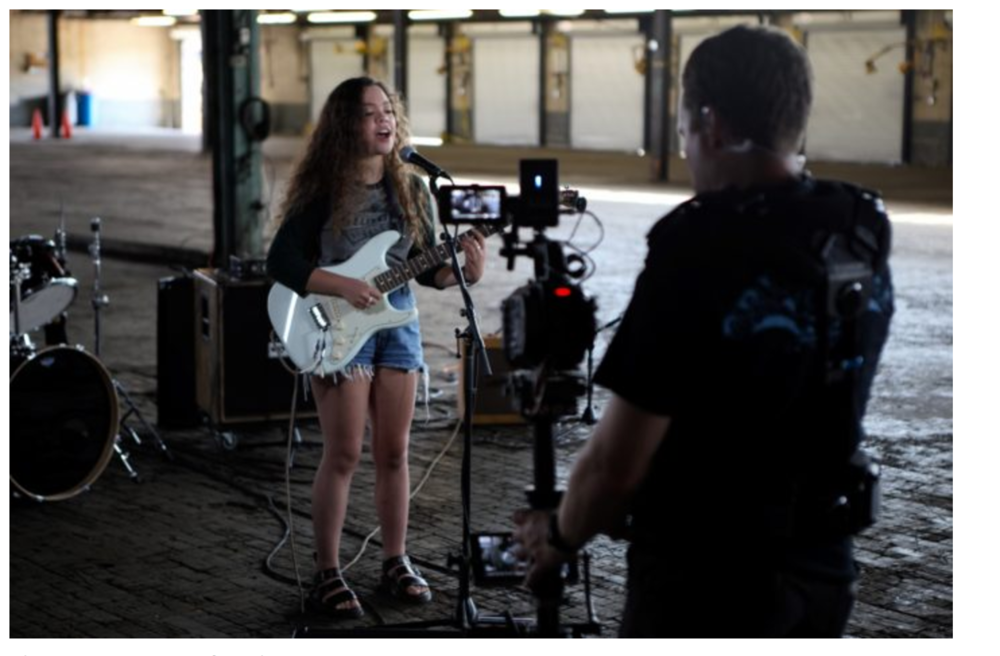 "Thanks to Charlotte Agenda for featuring the coming ""Down Yonder"" documentary filmed by Priceless Misc at Camp North End! All profits from project will be donated to Girls Rock Charlotte!"