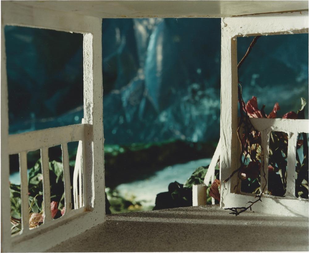 Encroaching Panorama, 1989 gelatin silver print, 158 x 122 cm.