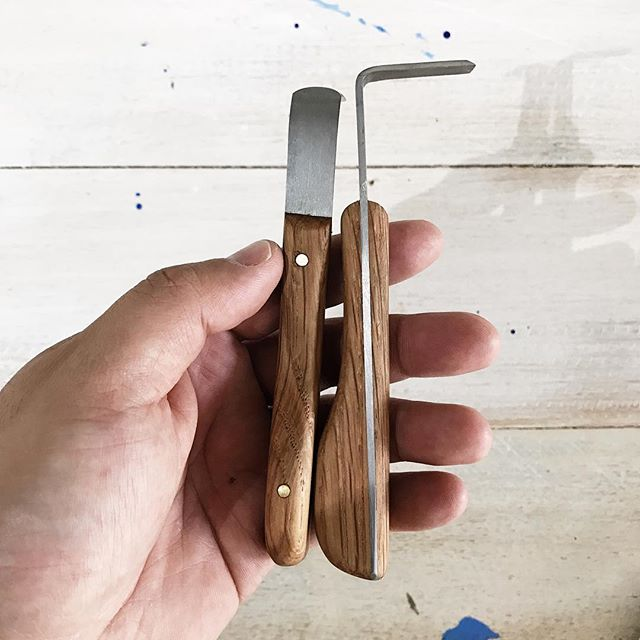 When you meet awesome people in your life and they hand make you a pair of custom trimming tools.  Once again thanks @ashleyroy and @kirralee_and_co for these beautiful tools!