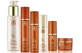 The RE9 Advanced anti-aging skin line. The only thing you'll ever need for your face again. Supplies last for like...ever. So it's money really well spent. And your face will thank you by all the attractive people who smile and flirt with you because you'll be in a constant state of glowing youthfulness. But, seriously.