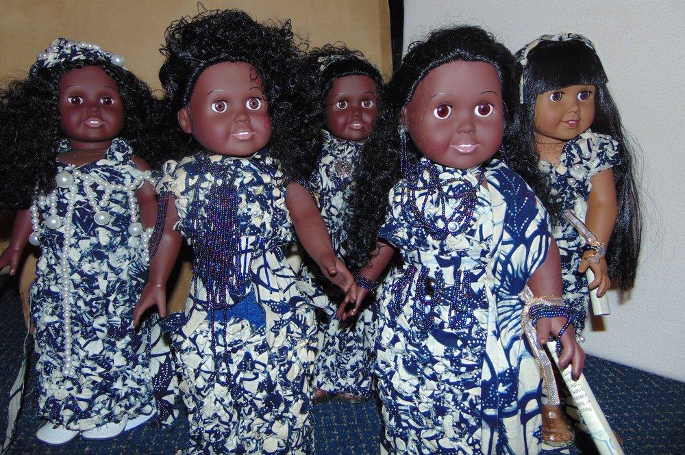 African Blue Bells - Akili       Imani      Kenya     Ashanti  Sasha