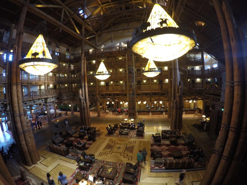 Quite a lobby (post Christmas Tree).