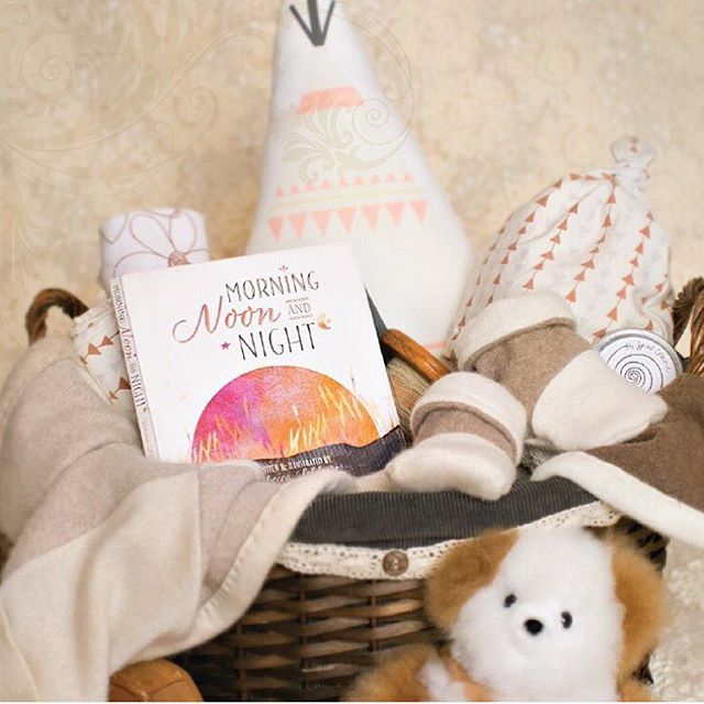 Our TSC Diaper Rash Balm looks perfect in this baby shower basket from @aveclavie!