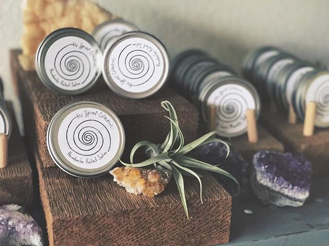 Does all of this Denver smoke have your head not feeling so great? My top seller, Headache Relief Salve, is in stock at @allitsown_shop!