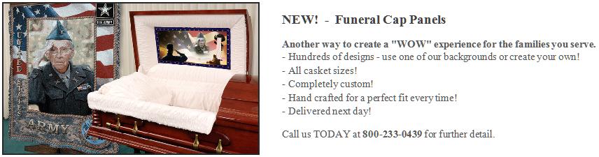 Funeral-Cap-Panel-Insert