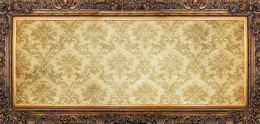 Damask Cap Panel Insert