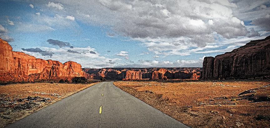 Desert Road Casket Cap Panel