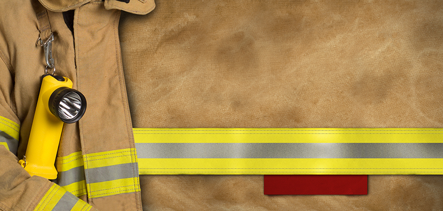 Firefighter Jacket Cap Panel Insert