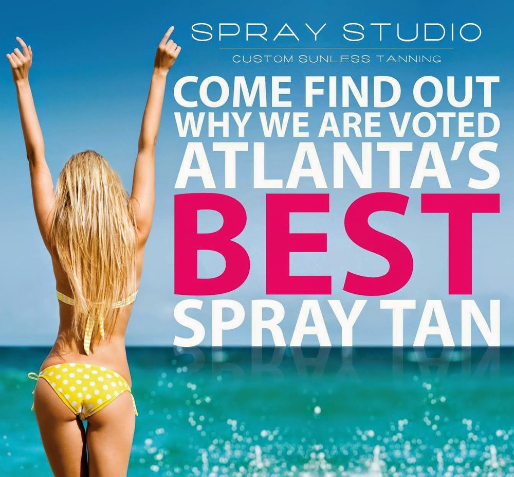 Shop Spray Studio, Atlanta, Sunless Tan