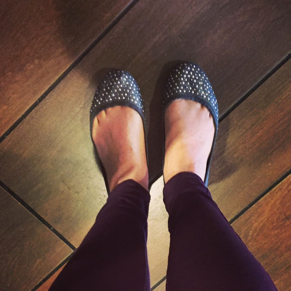 Perfectly wrong day to wear these. #fall #fashionblogger #veryfunny