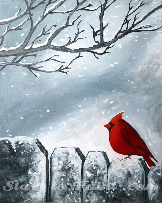 Cardinal in the Winter.jpg