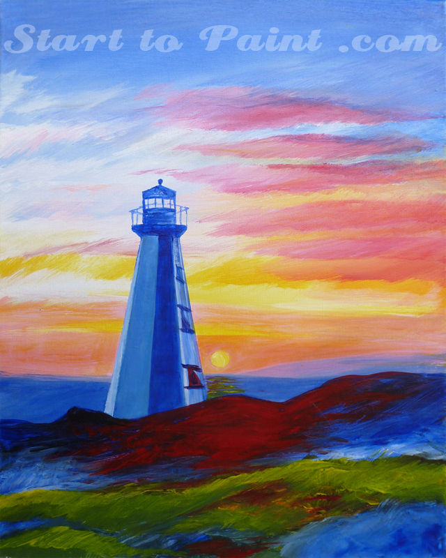 Lighthouse at Sunset.jpg