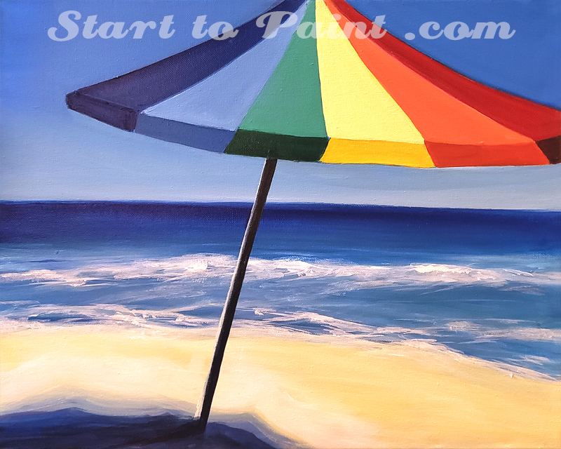 Umbrella on the Beach.jpg