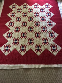 Made by Linda Kerber quilted by Ruth Wasmuth