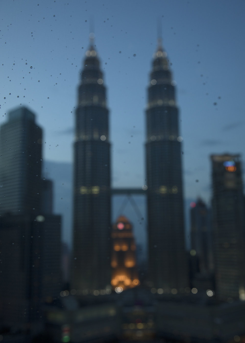 Petronas Towers at Dusk, 2017