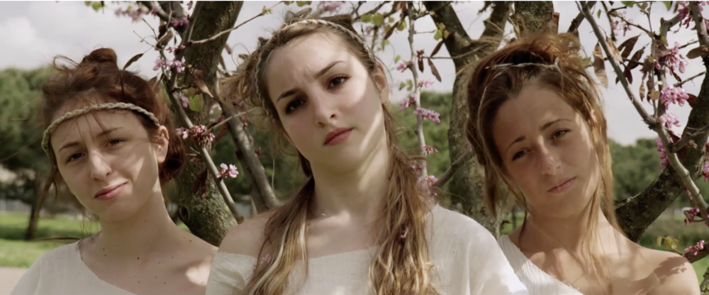 The Young Goddesses //   N-Capace  , Eleonora Danco (2014)