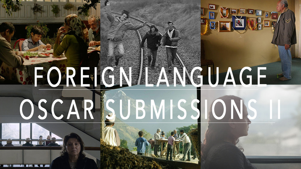 March: Foreign Language Oscar Submissions II:  FLMTQ Releases 120-125
