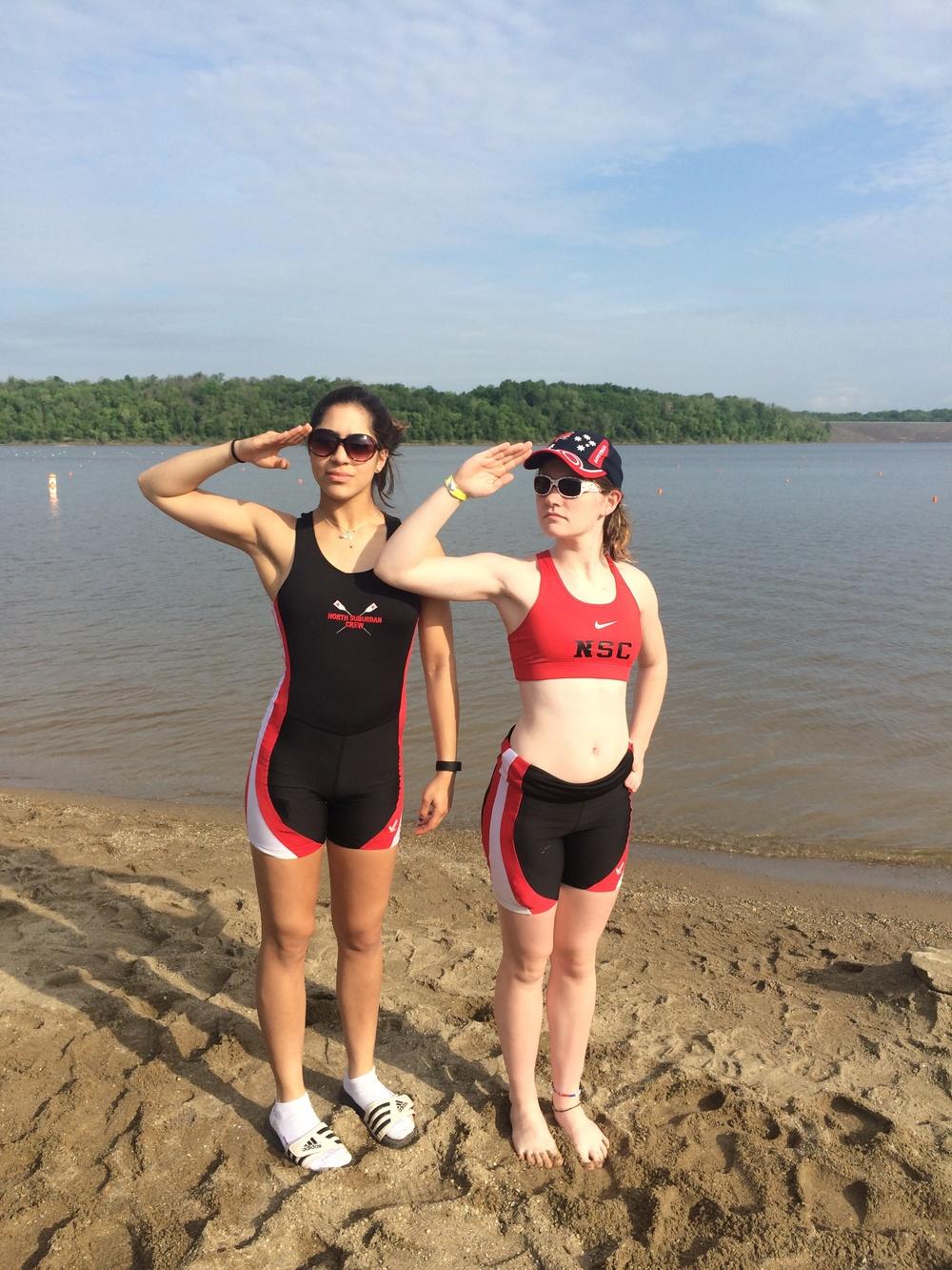 2015 Graduates: Emma and Lexi