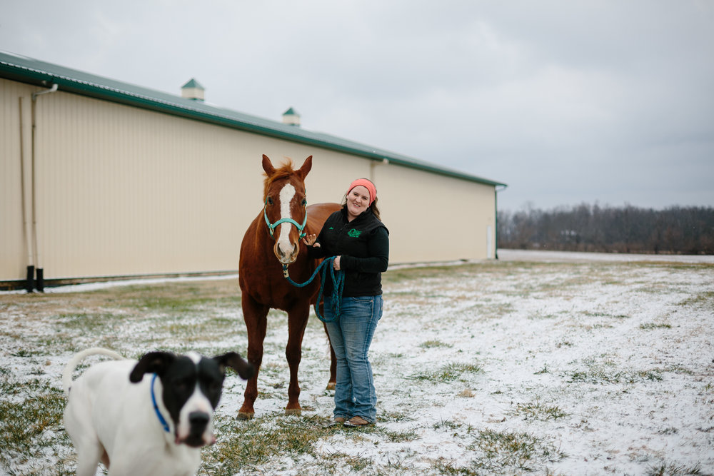 Jess & Shea at the Horse Barn in the Snow - Corrie Mick Photography-28.jpg