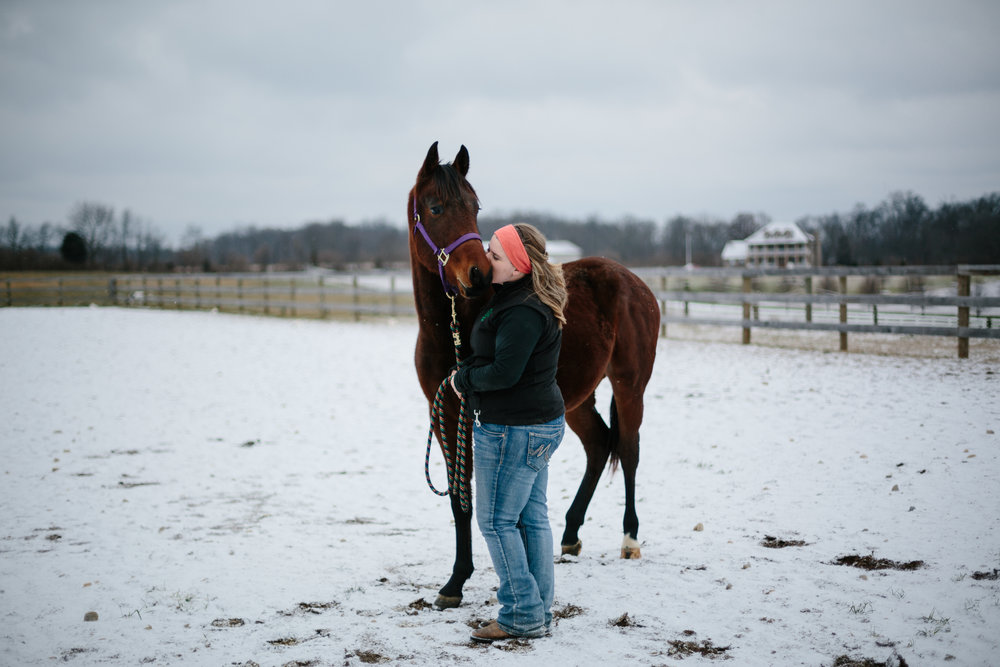 Jess & Shea at the Horse Barn in the Snow - Corrie Mick Photography-48.jpg