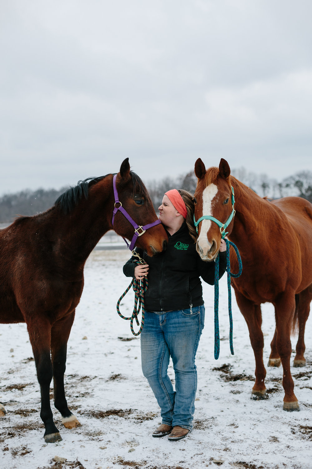 Jess & Shea at the Horse Barn in the Snow - Corrie Mick Photography-54.jpg