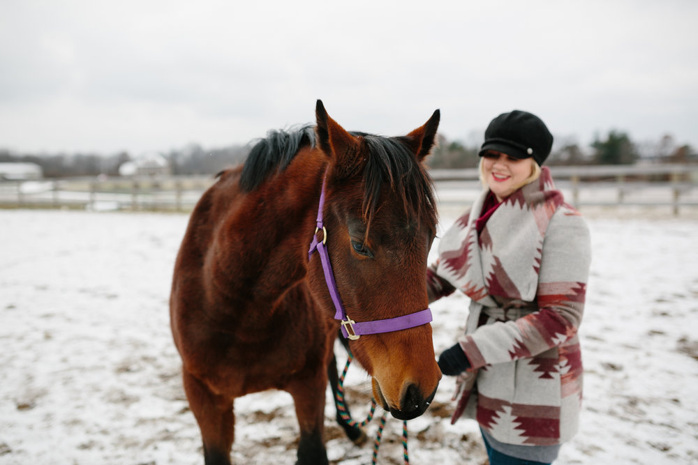 Jess & Shea at the Horse Barn in the Snow - Corrie Mick Photography-81.jpg