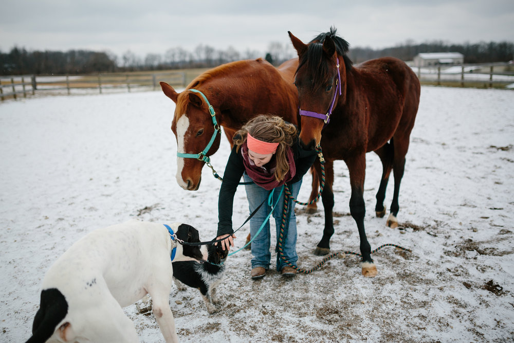 Jess & Shea at the Horse Barn in the Snow - Corrie Mick Photography-88.jpg