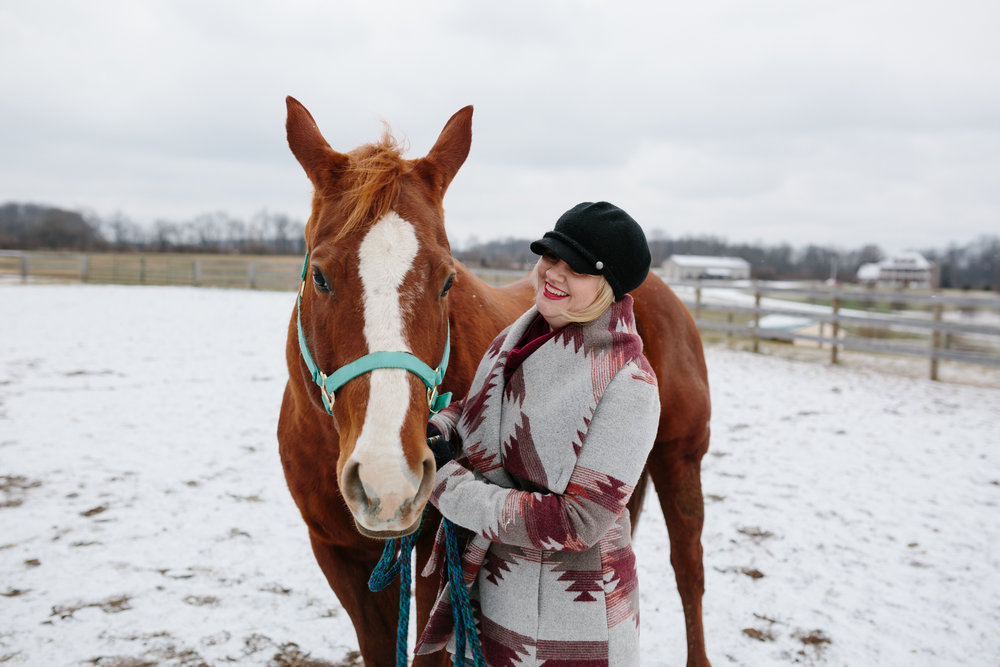 Jess & Shea at the Horse Barn in the Snow - Corrie Mick Photography-101.jpg