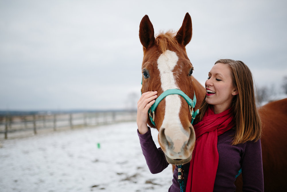 Jess & Shea at the Horse Barn in the Snow - Corrie Mick Photography-110.jpg