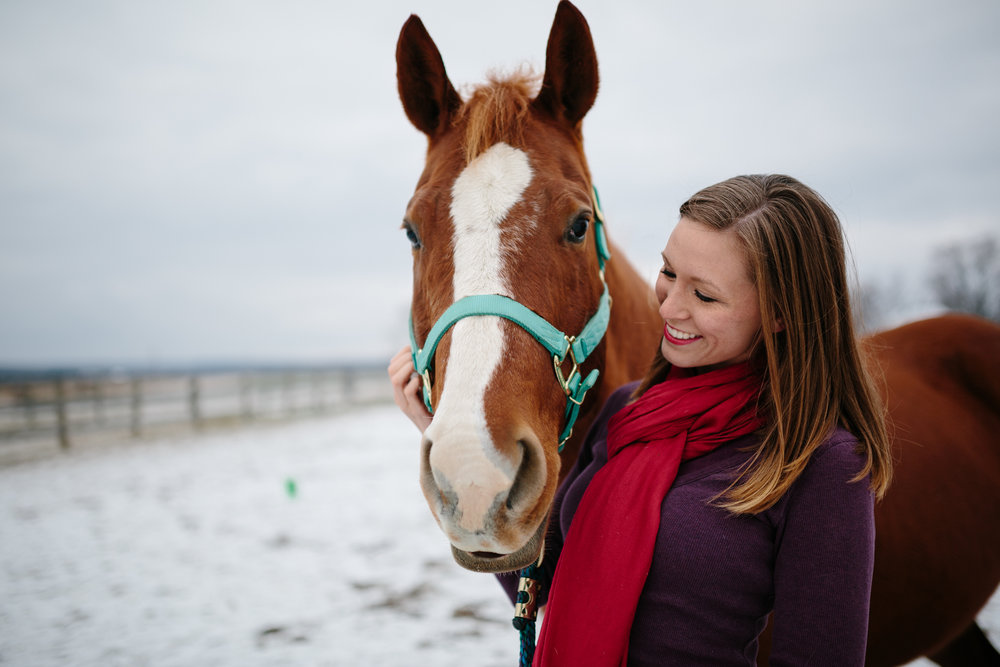 Jess & Shea at the Horse Barn in the Snow - Corrie Mick Photography-111.jpg