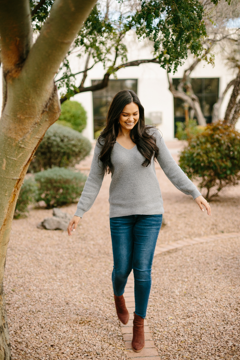 Smile-Filled Old Town Scottsdale, Arizona Engagement Session