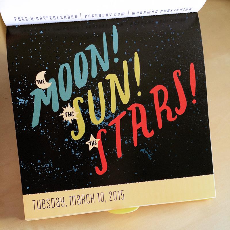 Calendar illustrations for  Workman Publishing