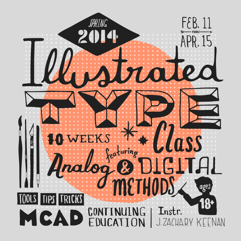 Promo image for Illustrated Type workshop