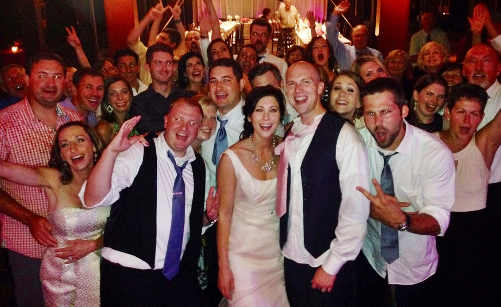 """This band is most epic! All age groups thought they were awesome. They took the time to learn my bride's favorite song for our first dance ... Very personal and professional.""   Holly & Brent - 8/8/2014"