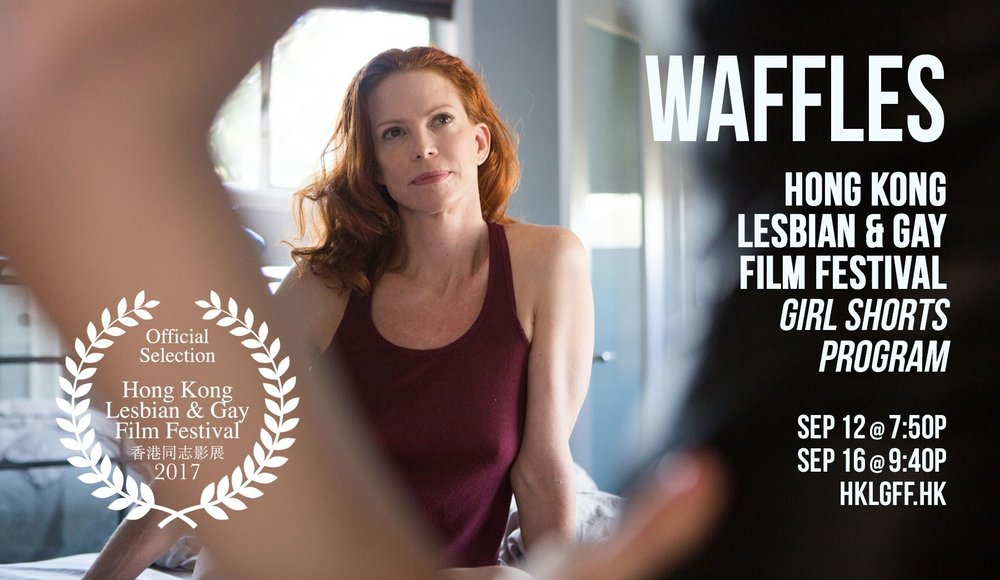 This spicy sexy short film directed by Foster Wilson is having a great ride through the LGBT Festival circuit.  Click on WAFFLES image above to Go to imdb Review!