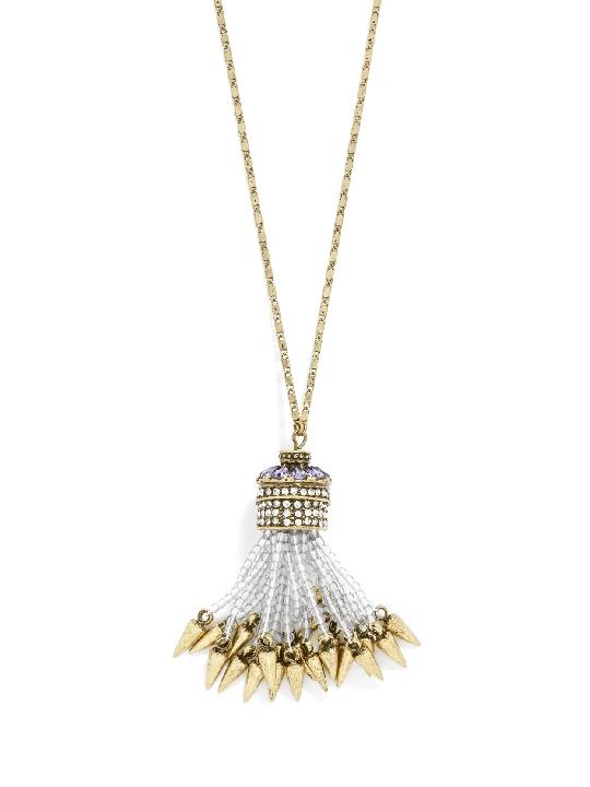 Spike Tassel Necklace