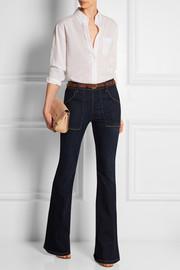 Frame Denim | Le Flare de Francoise high-rise jeans | NET-A-PORTER