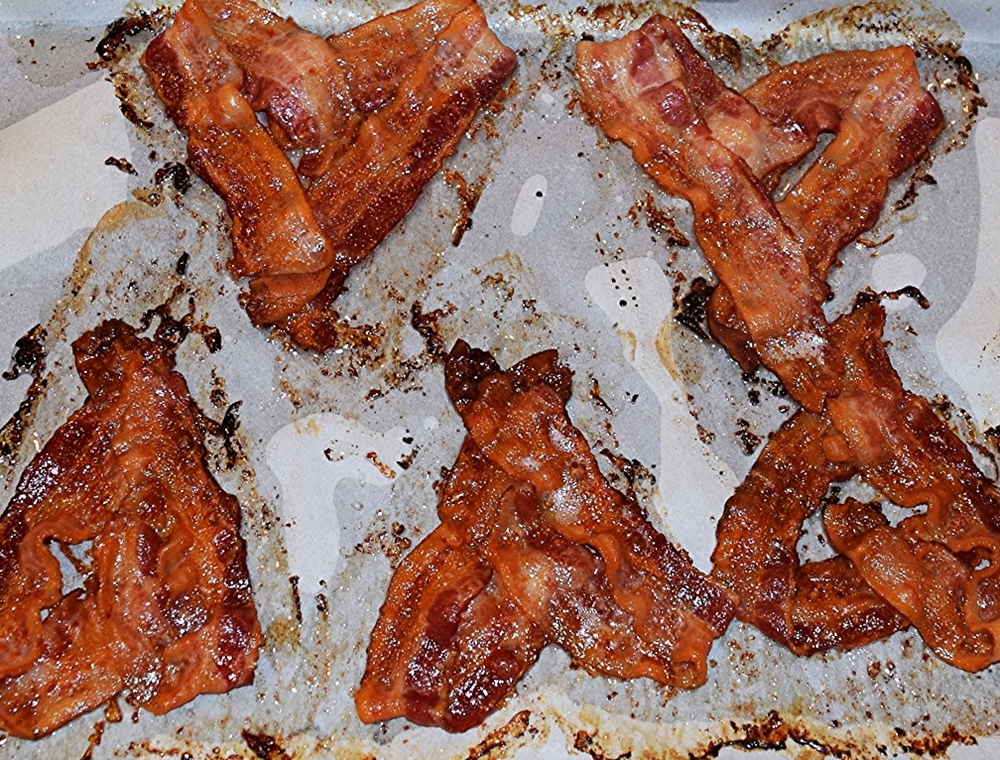 Crispy Bacon Hearts