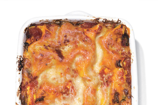 Sausage and Mushroom Lasagna