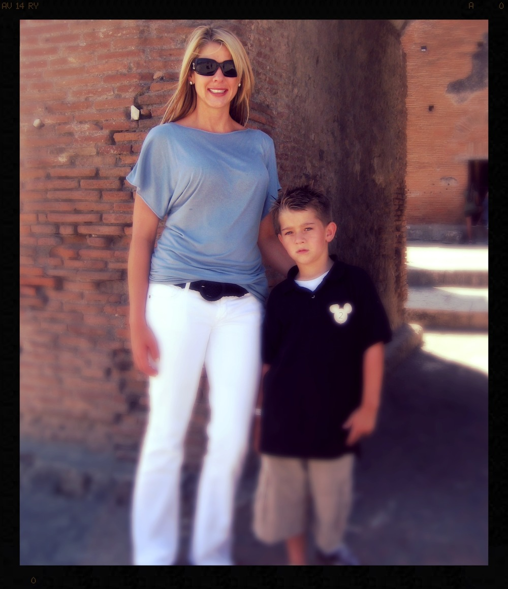 Pompeii with Thomas