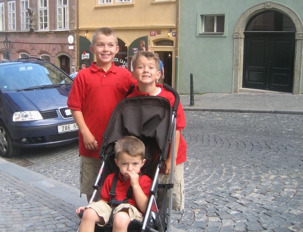Three boys | Prague