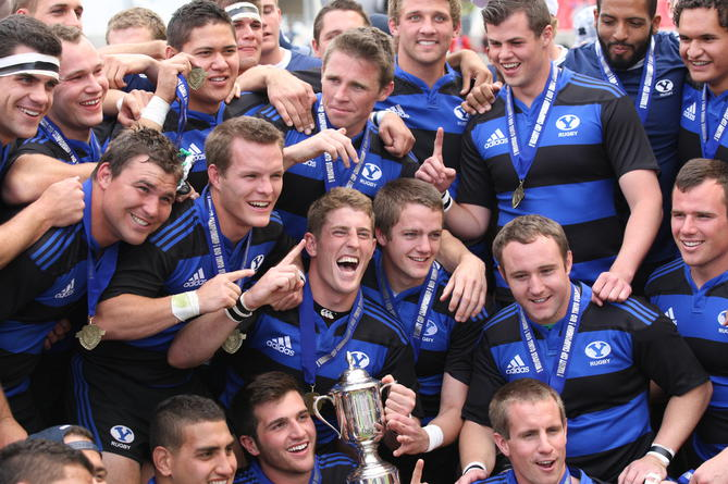 BYU RUGBY TEAM 2014 Champs