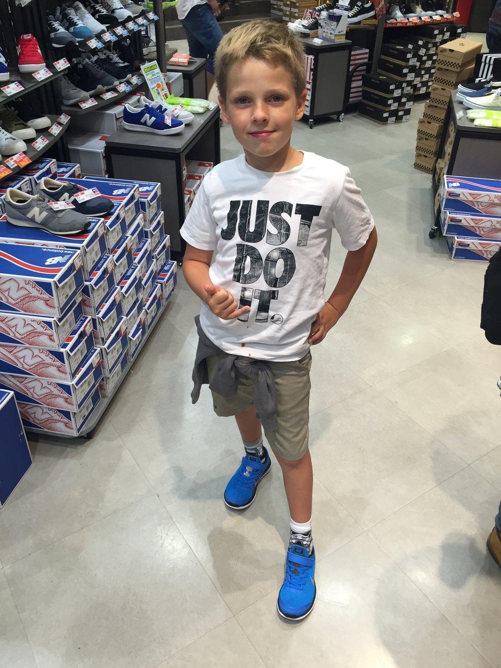 New Nike for Henry