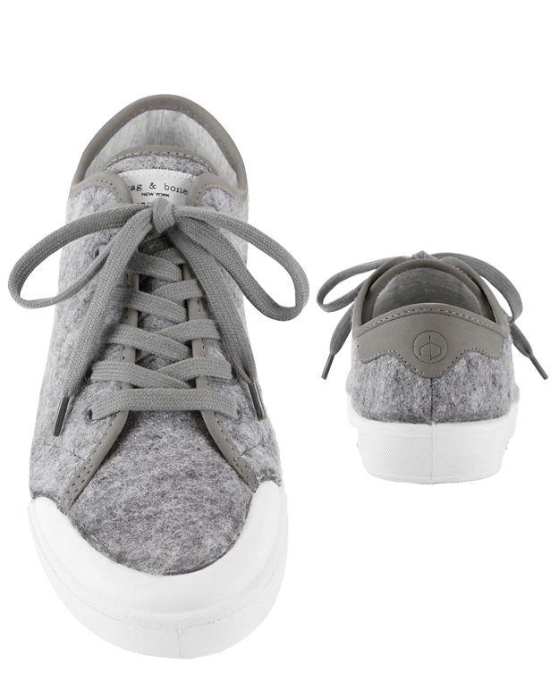 Rag & Bone Standard Issue Lace-Up Sneaker | Gray
