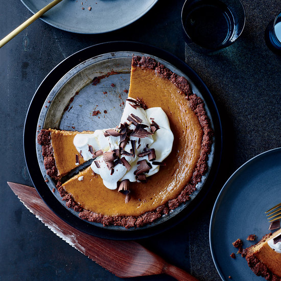 Pumpkin Cream Pie in a Chocolate Crust at Food and Wine